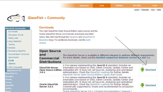 image9 - glassfish server and netbeans