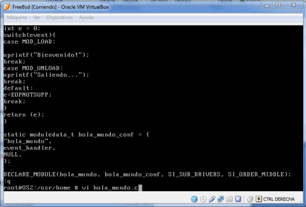 Instalacion FreeBSD y Modulo para el Kernel  (23)
