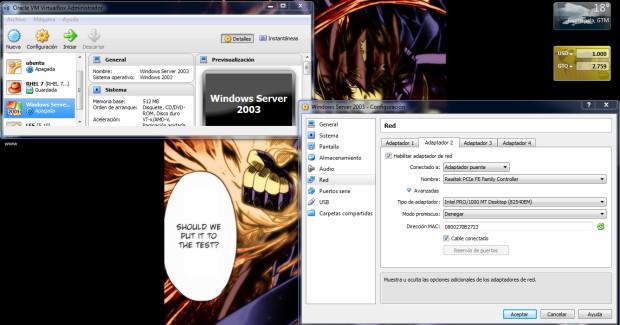 Problema de Dispositivos de red en Windows 7 con Virtualbox