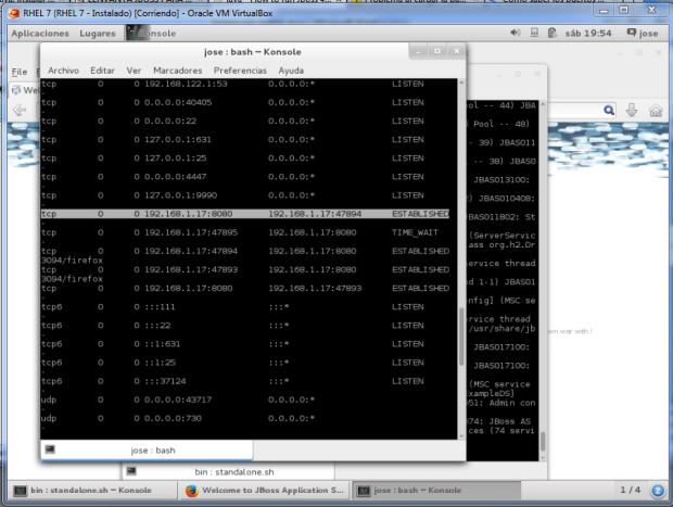im3 - JBoss en servidor externo RHEL 7 y Eclipse Kepler con Spring MVC