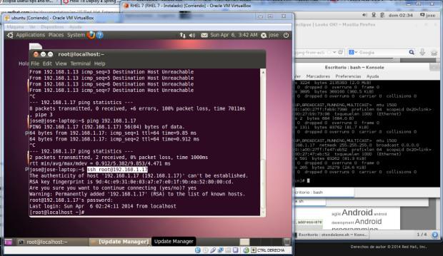 im6 - JBoss en servidor externo RHEL 7 y Eclipse Kepler con Spring MVC