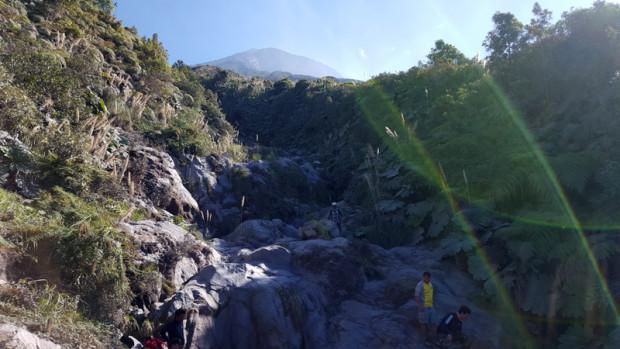 Río de lava petrificada