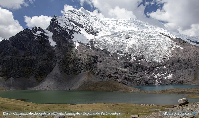 Lagunas Jatun Pucacocha y Quimsacocha.