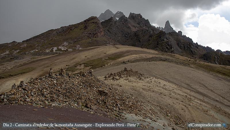 Segundo paso, Alqatarwi a 4900 msnm.