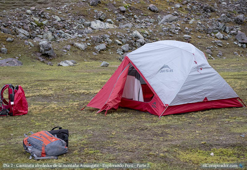 Campamento del día 2, Ananta.
